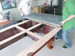 Billiard table moves in Bakersfield California